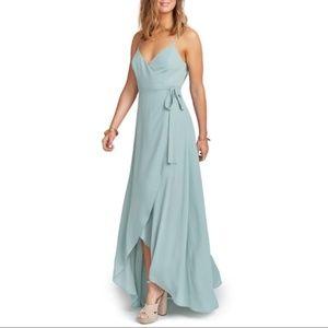 NEW Mariah Wrap Maxi Dress SHOW ME YOUR MUMU